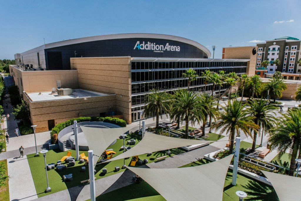 Addition Financial Arena Exterior image